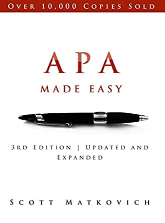 Apa made easy revised and updated for the apa 6th edition kindle apa made easy revised and updated for the apa 6th edition 3rd edition kindle edition ccuart Images