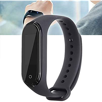 DMMDHR Fashion Bracelet Heart Rate Fitness Color Screen Version WristBand For Xiaomi Band 5 0 Music Smart Watch Black Estimated Price £93.44 -