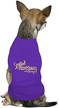 Small Parisian Pet Spoiled Rotten Dog T-Shirt