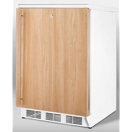 Summit FF7BBIIF Refrigerator Brown