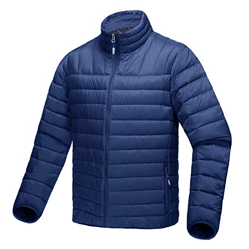 CRYSULLY Men's Winter Lightweight Stylish Outwear Packable