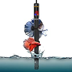 Wolfwill 300W Submersible Aquarium Heater with Visible Temperature Thermostat Suction Cup Fits 26.5-53 Gallons Fish Tank