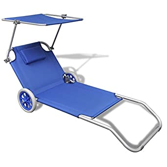 Amazon.com: Mandycng - Cojín plegable para silla de patio o ...