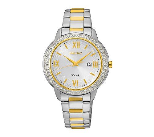 Seiko-Womens-Recraft-Crystal-Solar-Watch