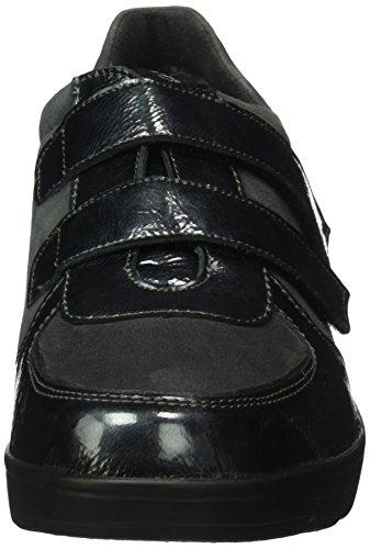 Semler Damen Judith Velcro Sneakerss Grau (877 Grigio-grau-anthrazit) ...