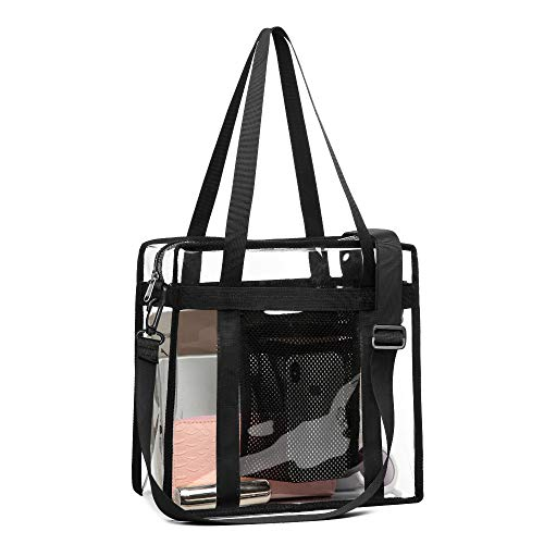 Clear Tote Bag, Packism Clear Bag Stadium Approved Transparent Bag Clear Purse