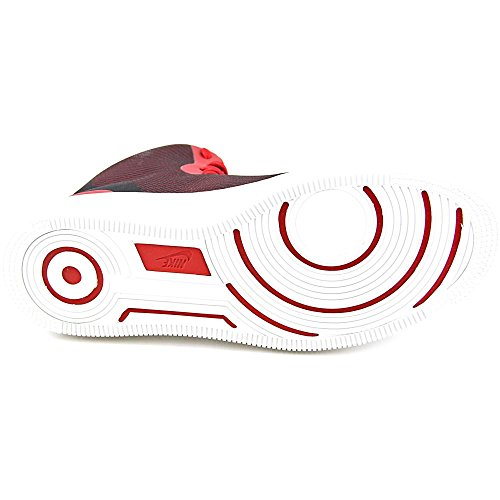 Nike Nsw Pro Stepper, Zapatillas de Baloncesto para Hombre Rojo / Blanco / Negro (Gym Red/Gym Red-Summit White)