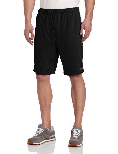 Alo Yoga Men's Reponse Short, Black/White, Large ()