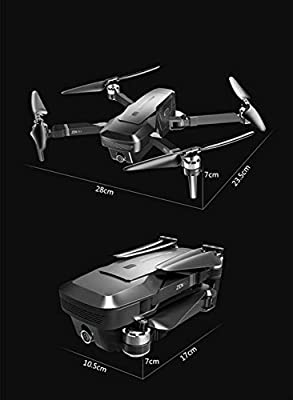 YLSP Folding Aerial Drones Brushless 4K High Definition Professional Large-Scale GPS 2000 Meters Long Endurance UAV Remote Control Four-Rotor Aircraft Shot Free Beginner UAVs Two Batteries