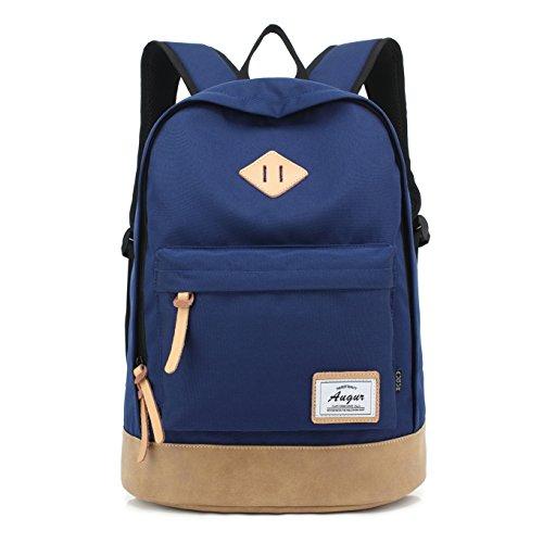 Travel Outdoor Computer Backpack Laptop bag big (blue) - 2