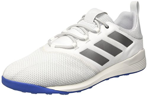 Hommes Adidas Ace Tango 17,2 Tr Baskets Ivoire (bianco Balcri / Plamet Azul)