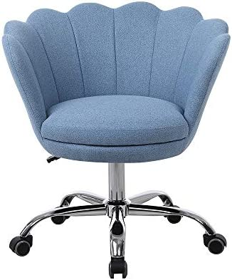 Swivel Shell Chair Home Office Chair Adjustable Leisure Task Chair