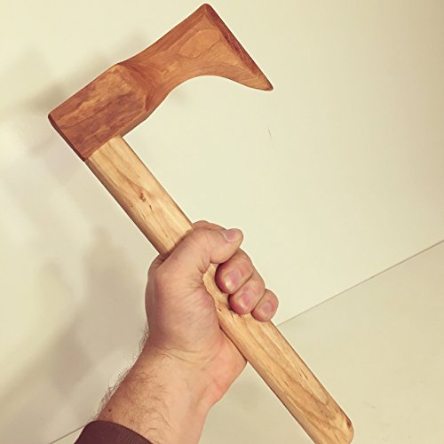 Wooden Toy Hatchet in Maple and Black Cherry Woods