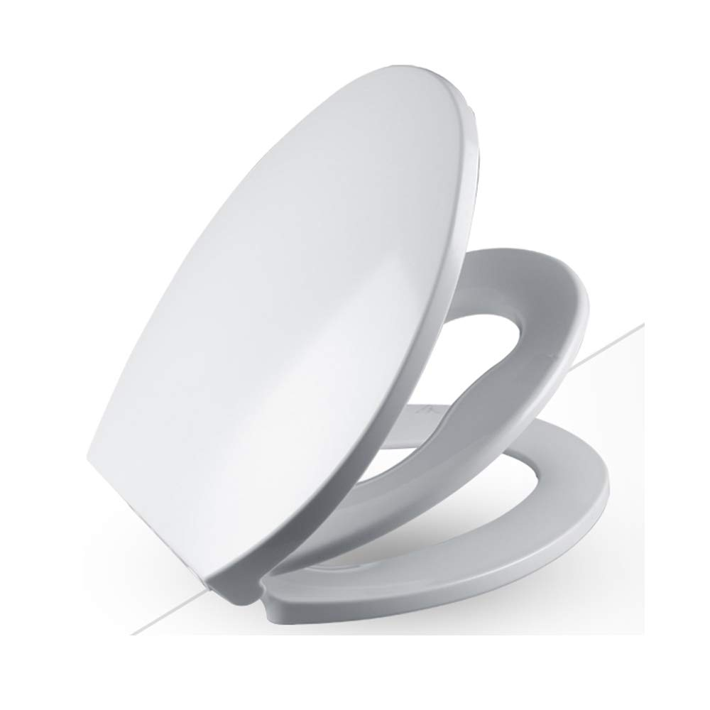2 In 1 Toilet Seat.Amazon Com 2 In 1 White Family Toilet Seat With Built In