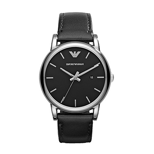 (Emporio Armani AR1692 Luigi Classic Leather Men's Watches)