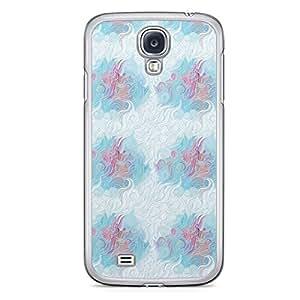 Hairs Samsung Galaxy S4 Transparent Edge Case - Design 3