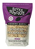 Seven Sundays Gluten Free Muesli - Blueberry Chia Buckwheat {32 Ounce Value Pack} Non-GMO Certified, Hot or Cold Breakfast Muesli (Blueberry Chia Buckwheat, 32 Oz - 1 Count)