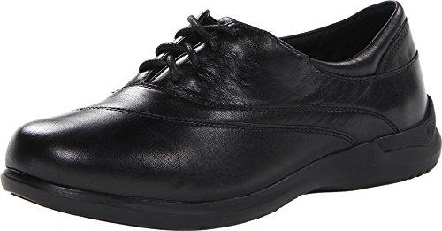 Aravon Women's Francesca Flat, Size: 5.5 Width: 2E Color: Black