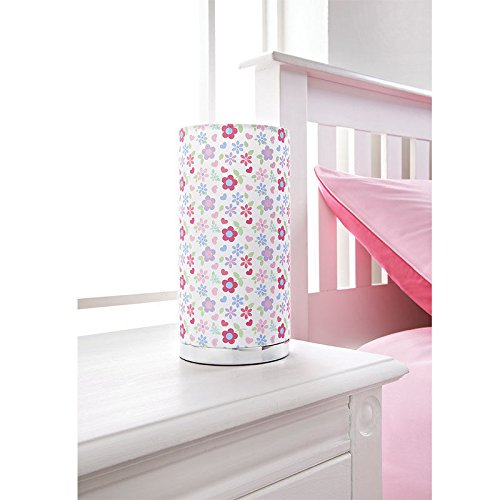 Kids printed table lamp girls room table lamp bed side table lamp kids printed table lamp girls room table lamp bed side table lamp pink flowers mozeypictures Gallery