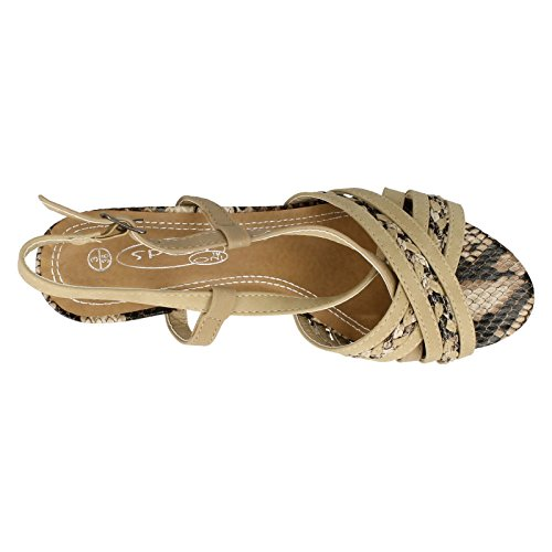 Spot On , Damen Sandalen Beige