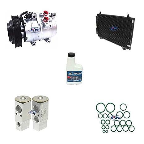 A/C compresor de REMANUFACTURADO y condensador Kit para Toyota Corolla 05 - 08 1.8L, Matriz 05 - 08 1.8L 10s15l 77391: Amazon.es: Coche y moto