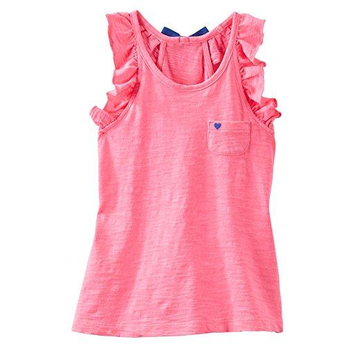 Oshkosh Girls TLC Racerback Tunic; 6m; Pink (Osh Kosh Cami)