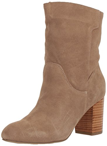 MIA Women's Cobain Fashion Boot, Stone, 8.5 M US