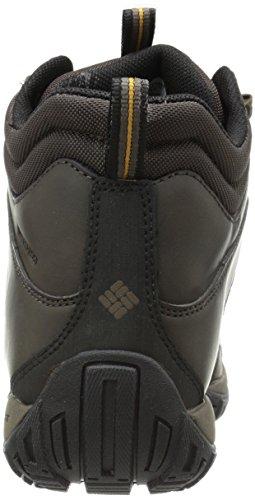 Columbia PEAKFREAK VENTURE MID WATERPROOF OMNI-H - zapatillas de trekking y senderismo de piel hombre marrón - Braun (Cordovan/Caramel 231)