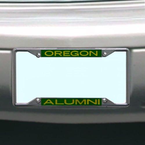 (NCAA Oregon Ducks License Plate Frame Alumni)