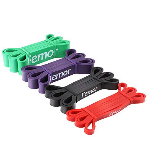 femor Pull Up Assist Bands – Stretch Resistance Band - Mob