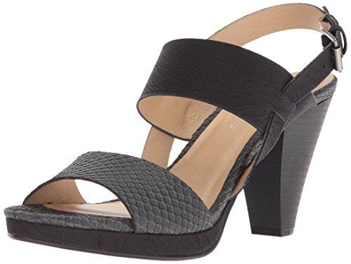 Chinese CL Sandal Nubuck Snake Black Worthy von Womens Heels Laundry HHRq5
