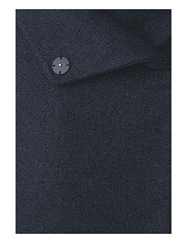 Street One Ojp_hooded Wool Jacket Long, Chaqueta para Mujer Blau (Black Night 10989)