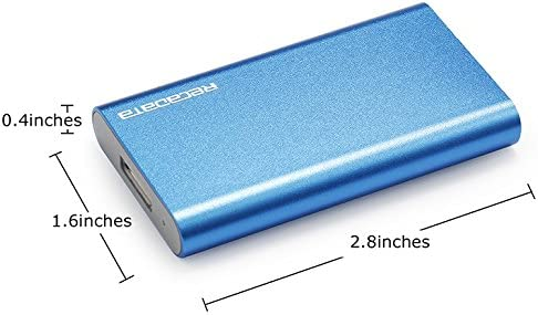 iRecadata Mini SSD Disco Duro Externo, 128G SSD mSATA, Disco ...