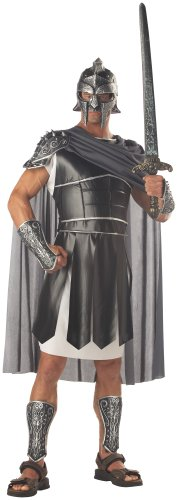 California Costumes Men's Centurion Costume, Black/silver,