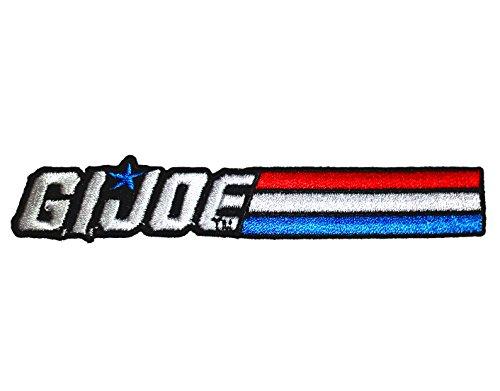 (GI Joe Logo Iron-On Patch )