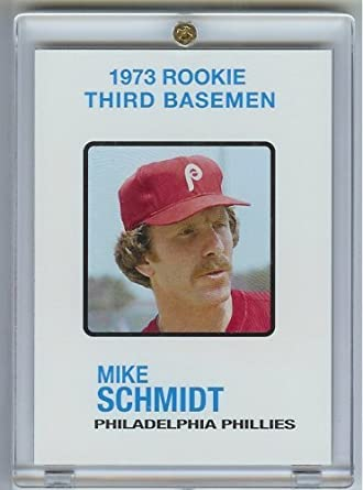 2006 Topps Mike Schmidt Rookie Of The Week Baseball Card