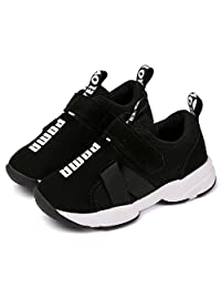 Daclay Kids Shoes Boys Girls Sneakers Mesh Fashionable Hook and Loop Breathable Running