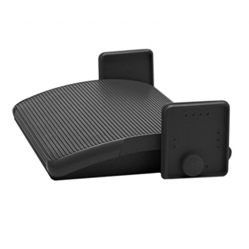 Steelcase Ergonomic Adjustable Under Desk Foot Rest to Sit or Stand at Home or Office - Promotes Good Posture and Blood Circulation by Steelcase (Image #1)