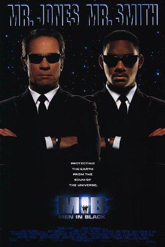 amazon com men in black movie poster 1 sided original 27x40 will