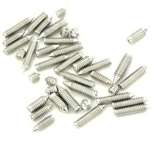80pcs M2.5 M3 Socket Screws Set Belt Buckle Repair Mini Screw for Bag Hardware Size ()