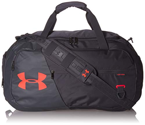 Under Armour Undeniable Duffle 4.0, Pitch Gray (013)/Beta Red, Medium
