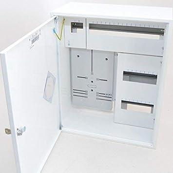 Contador Armario seguridad caja de distribución (F., 1 x Contador de 1 PH + 36 SE.: Amazon.es: Bricolaje y herramientas