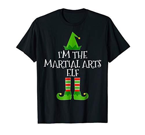 I'm The Martial Arts Elf Matching Family Christmas T Shirt (Im Arts A Martial)