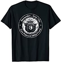 Smokey Bear Only You can Prevent etc - Seal T-shirt
