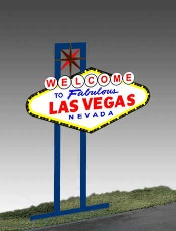 1251 Model Las Vegas Animated Lighted Sign by Miller Signs by Miller Engineering (Image #1)