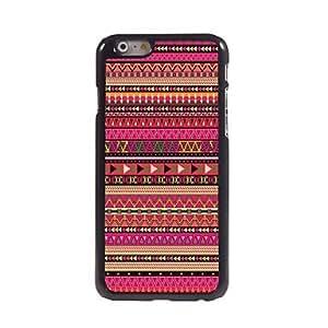 LZX Textile Stripe Design Aluminum Hard Case for iPhone 6 Plus
