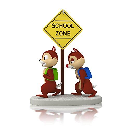 Hallmark 2014 School Time for Chipmunks A Year of Disney Mag