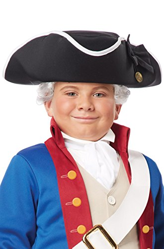 Tricorn Colonial Hat (Kids Colonial Tricorn Hat)