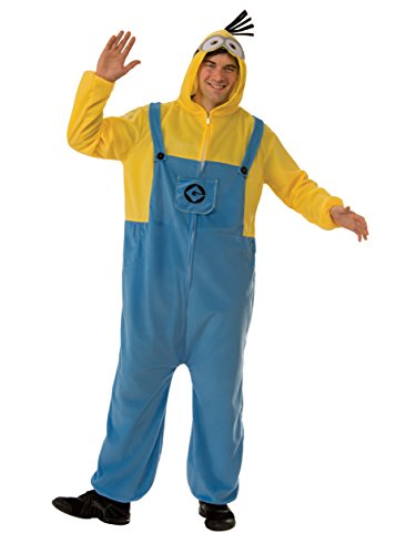 Rubie's Men's Despicable Me 3 Minion Adult Costume Onesie, As As Shown Small