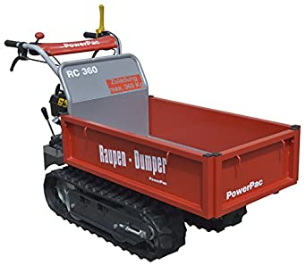 Powerpac Rde500 Das Original Akkudumper Elektro Raupendumper Dumper 2018 Gute QualitäT